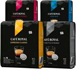 2 paquets de dosettes Café Royal (x36) pour machine à café Senseo