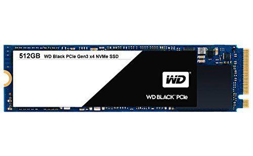 SSD interne Western Digital (WD)Black PCIe NVMe M.2 2280 - 512 Go (Livraison et taxes incluses)
