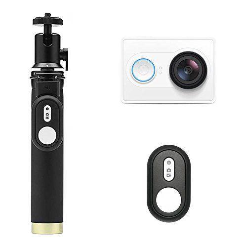 Caméra sportive Yi 2K (16 Mpix, blanc) + perche à selfie + télécommande Bluetooth (vendeur tiers : YI Official Store France)