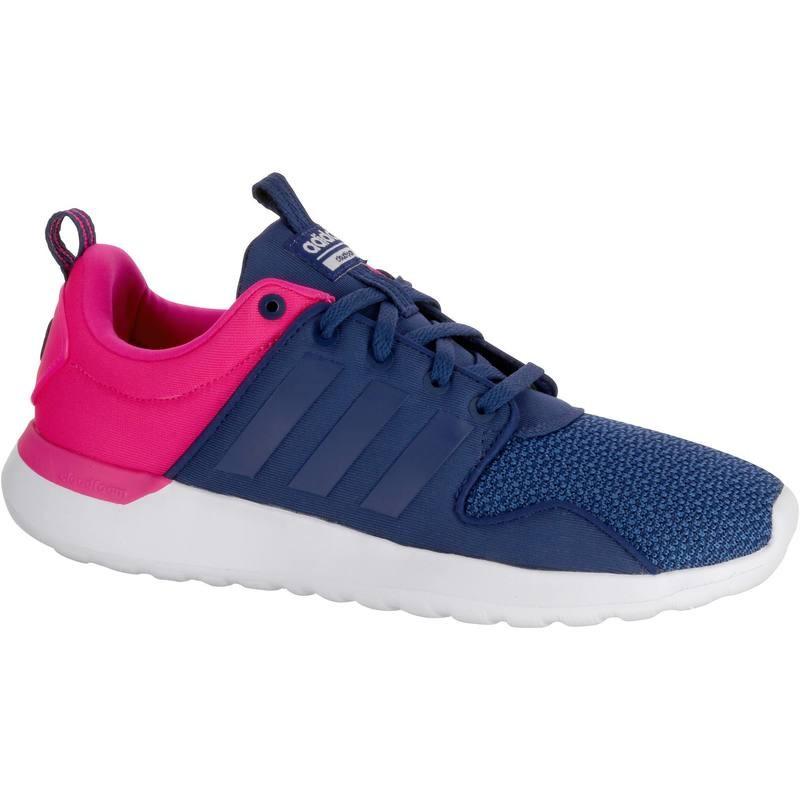 Chaussures de marche spotive Femmes Adidas Lite Racer navy