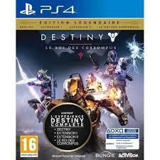 Destiny Le Roi des Corrompus Édition Légendaire sur Xbox One et PS4 en magasin via l'appli Micromania