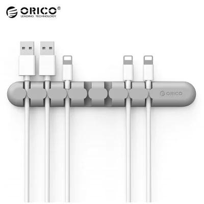 [Nouveaux clients via Paypal] Organisateur de câbles Orico CBS7 en silicone et adhésif
