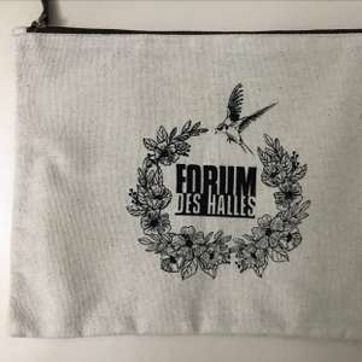 [Carte de fidélité] Pochette en tissu gratuite au Forum des Halles Paris 1er (75)