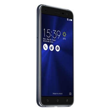 "Smartphone Asus Zenfone 3 5,5"" ZE552KL Bleu nuit 4Go RAM, Dual Sim 4G 64Go Snapdragon 625"