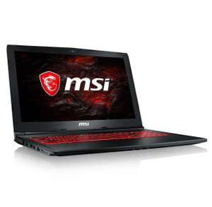 "PC portable 15.6"" MSI GL62M 7RDX-2036XFR - i5-7300HQ, 8 Go RAM, 1 To, GeForce GTX 1050"
