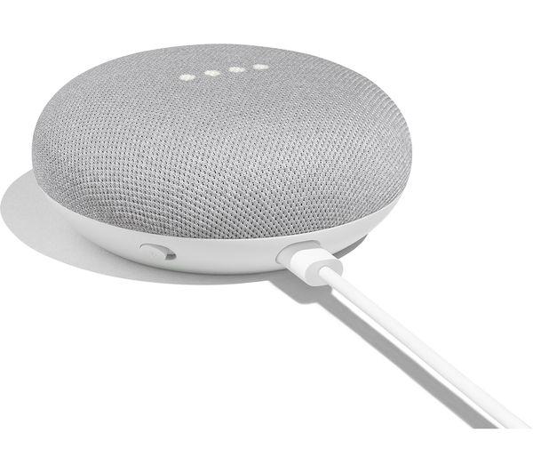 Google Home Mini (Version US) - Gris (+1,95€ offerts en superpoints)