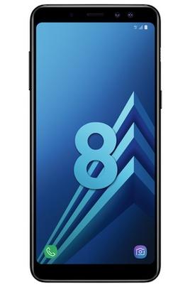 "Smartphone 5.6"" Samsung Galaxy A8 (2018) - Full HD+, Double SIM, RAM 4 Go, ROM 32 Go (via reprise de votre ancien téléphone + ODR de 70€) + 30€ offerts en carte cadeau"