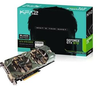 Carte graphique GeForce GTX 970 Exoc Black Edition + The witcher 3