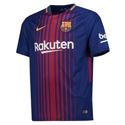 Sélection de Maillots de Football en Promotion - Ex: FC Barcelone Domicile 2017-2018 (Tailles au choix - kitbag.com)