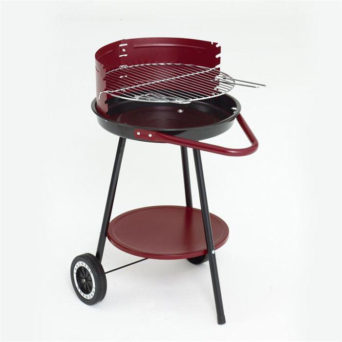 Barbecue charbon sphérique et tablette