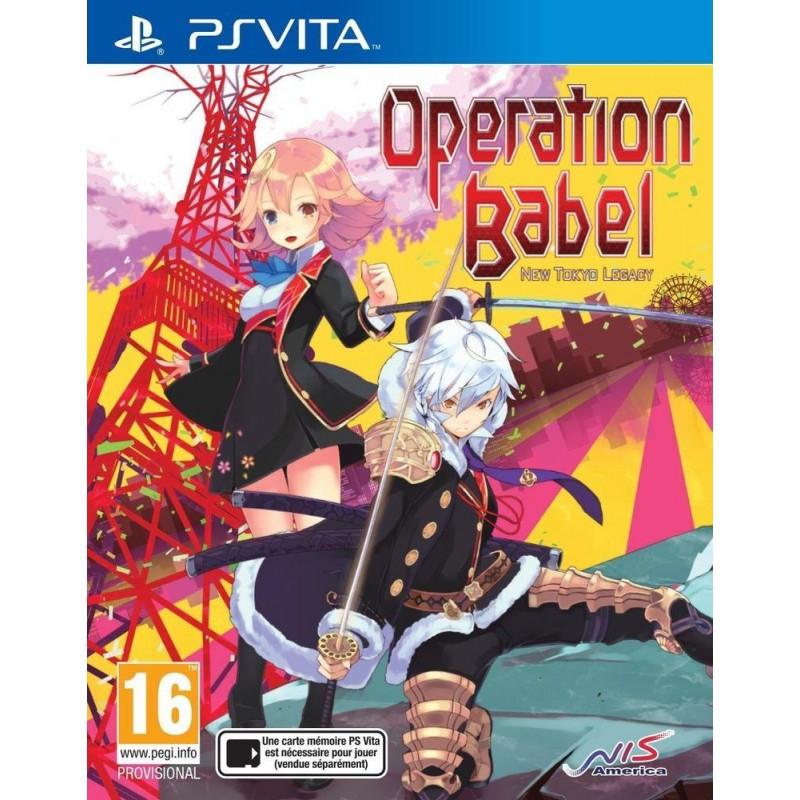 Operation Babel : New Tokyo Legacy sur PS Vita