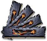 Barrette de ram DDR4 G-Skill Ripjaws 4 Series - 16 Go (4 x 4 Go) - 2133 - PC4-17000 - CL15