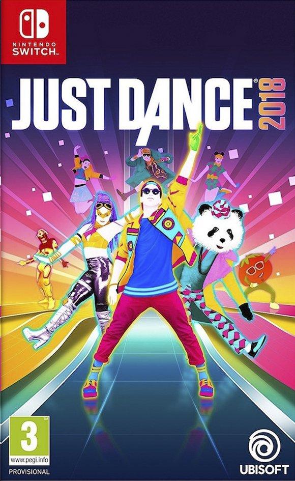 Juste Dance 2018 sur Switch chez Dreamland.be (frontaliers Belgique)