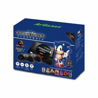 Console retro Megadrive mini + 2 manettes sans fils + 85 jeux