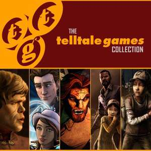 "Pack de jeux PS4 ""Telltale Games Collection"" (The Walking Dead saison 1, saison 2 ...)"