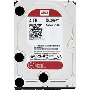 """Disque dur NAS 3.5"""" Western Digital WD Red (WD40EFRX) - 4 To"""
