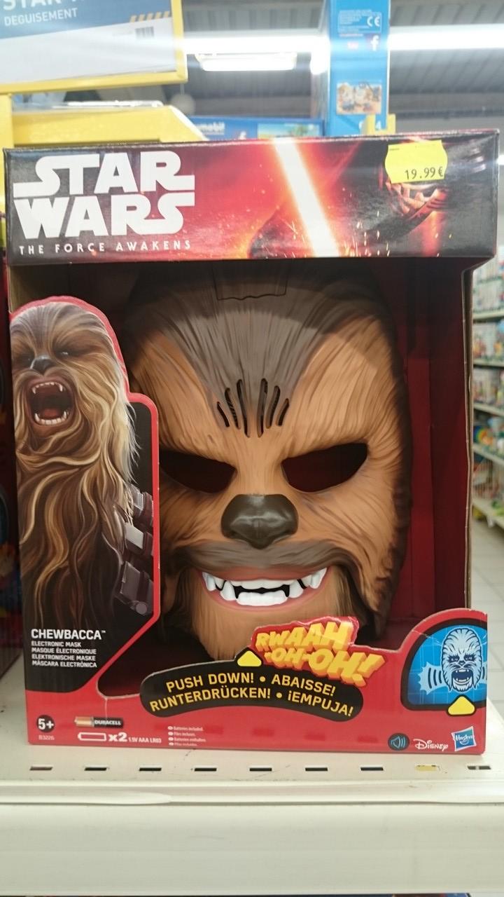 Masque électronique Chewbacca (Rillieux-la-Pape 69)