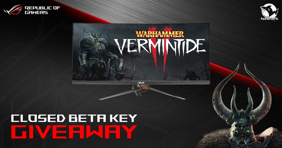 Accès Gratuit à la bêta fermée de Warhammer: Vermintide 2 sur PC (Dématérialisé - Steam)