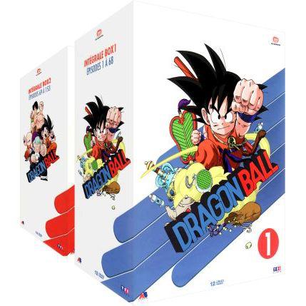 Coffret DVD Dragon ball - édition collector non censurée vol 1 & 2