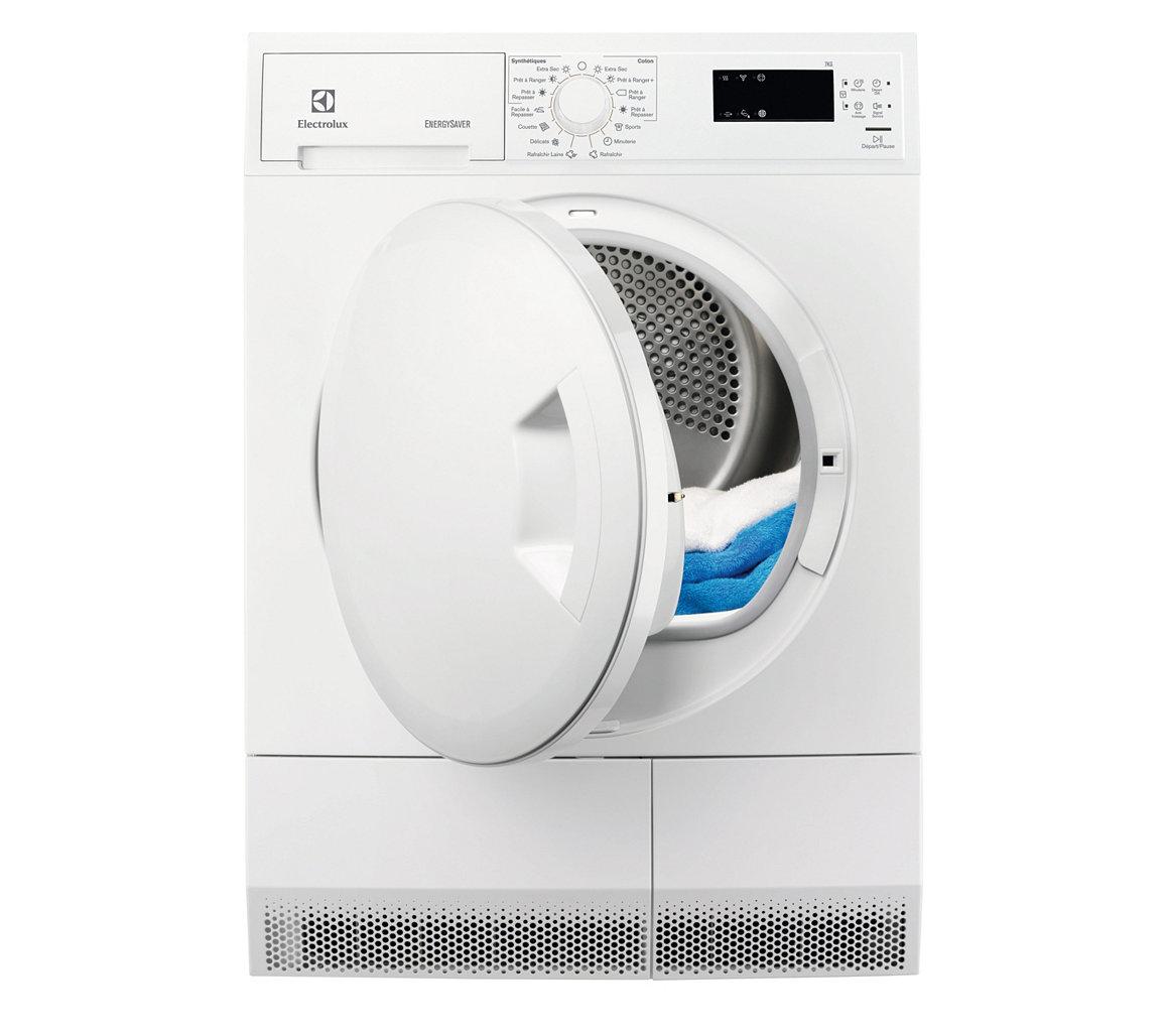 Sèche linge pompe à chaleur A+ Electrolux EDH3673PDS - 7 Kg