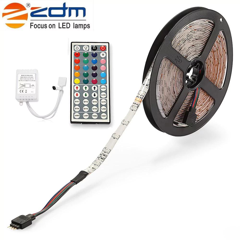 Bande LED Couleurs RGB étanche (5m) + Télécommande 44 touches + Recepteur IF