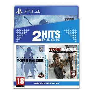 Pack Tomb Raider Edition Definitive + Rise of the Tomb Raider Sur PS4
