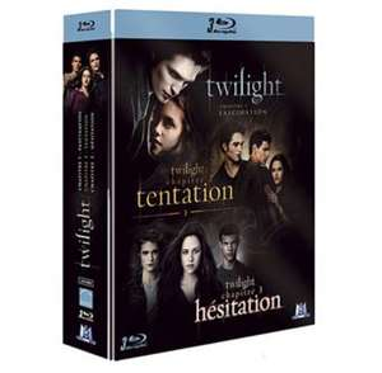 Coffret Blu-ray Twilight Chapitre 1 à 3 - Poitiers (86)