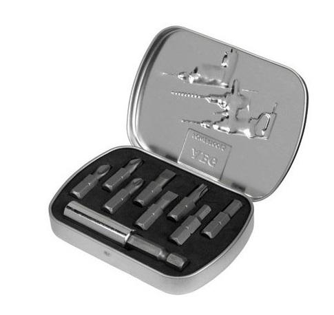Coffret de 8 embouts + 1 porte-embouts magnétique AEG