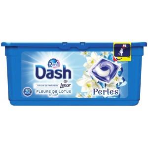 Sélection de Produits en Promotions - Ex: Lessive en Capsules Dash Perles 2-en-1 Gratuit(Variétés au choix - Via BDR + Carte de Fidélité)