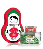 Coffret Kusmi Tea Doll (Parfums au choix) - 25g