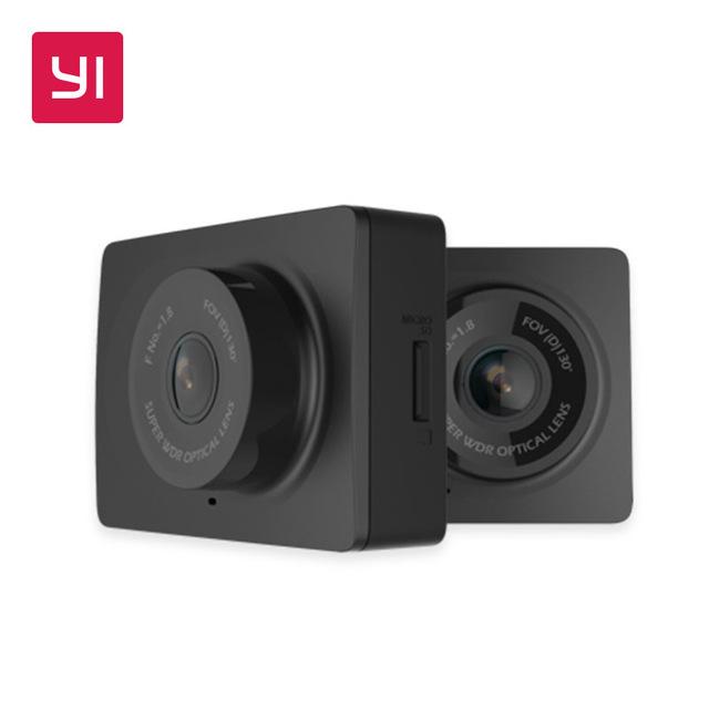 "Caméra DashCam YI Compact - Ecran 2.7"", Full HD (1080p / 30 fps), WiFi, FOV 130°, F/2.0"