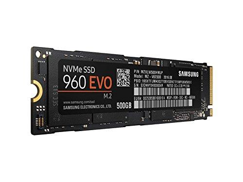 SSD interne M2 Samsung 960 Evo (PCIe NVMe V-Nand TLC) - 500 Go