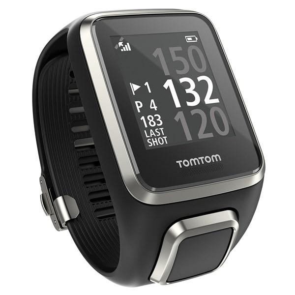 Montre connectée GPS TomTom Spark Cardio + Music Édition Premium - Taille S ou L, Noir
