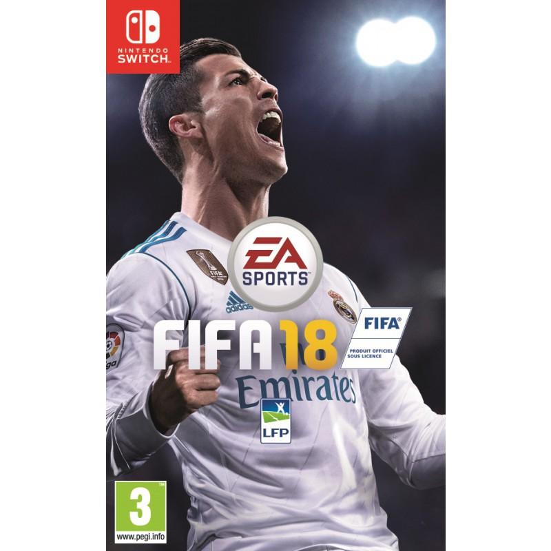Jeu Fifa 18 sur Nintendo Switch