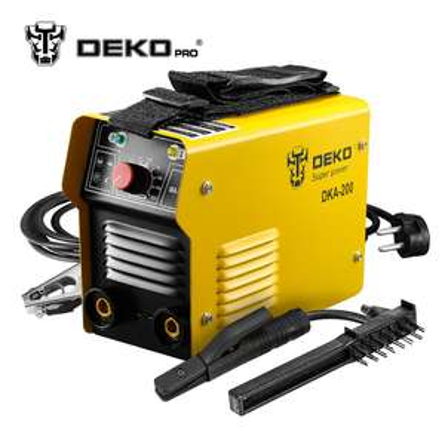 Poste à souder inverter Dekopro DKA-200 - 200 Ampères (Entrepôt Espagne)