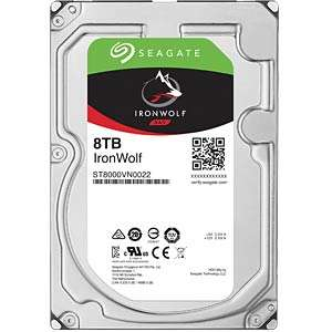 """Disque dur 3,5"""" Seagate IronWolf ST8000VN0022 - 8To"""