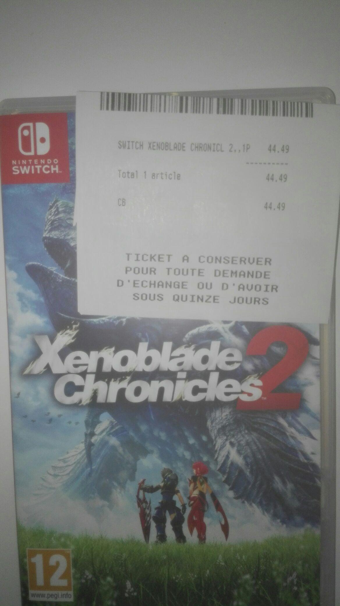 Jeu Xenoblade Chronicles 2 sur Switch - Portet sur Garonne (31)