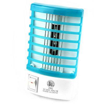 Lampe éléctronique 2 in 1 LED tue mouche