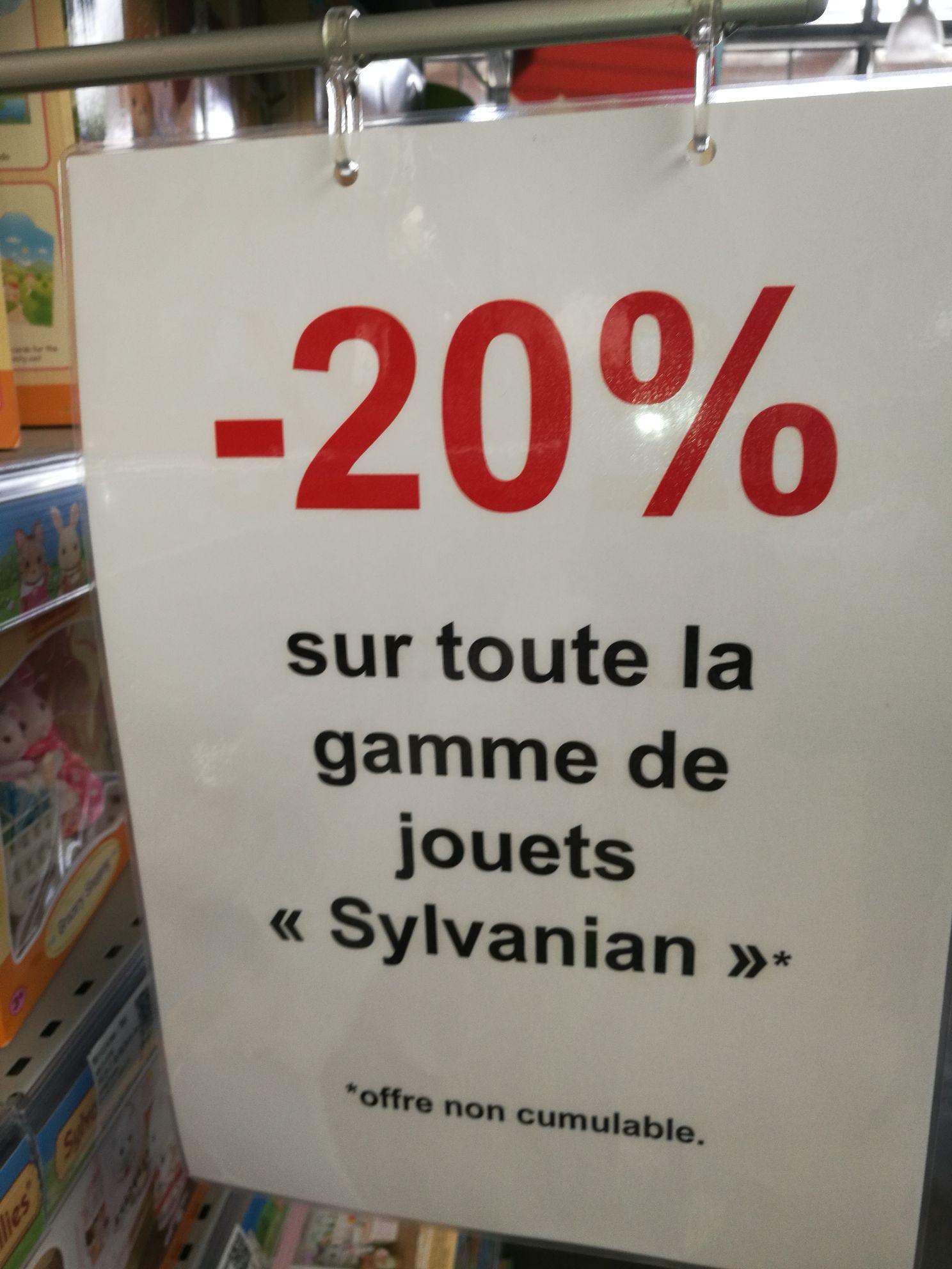20% sur tout la gamme Sylvanian Families à Truffaut Colomiers (31)