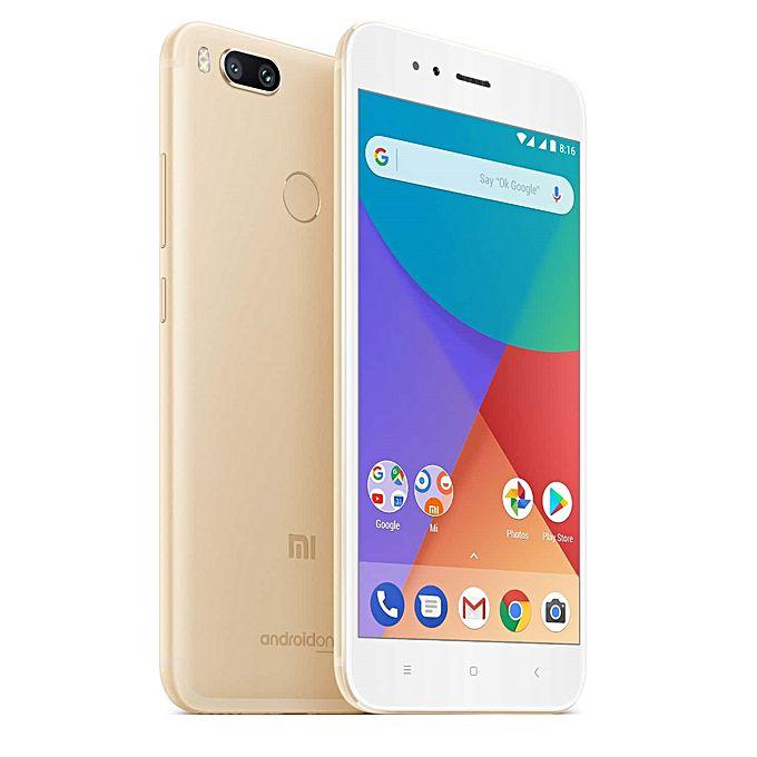 "Smartphone 5,5"" Xiaomi Mi A1 Snapdragon S625, 4Go de RAM, 32Go de ROM Global Version (entrepôt france)"