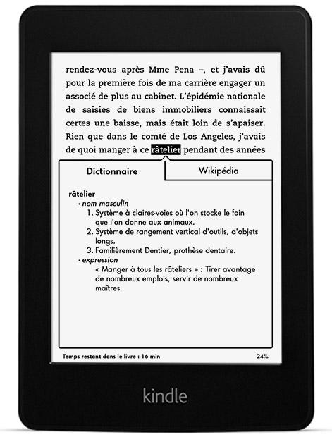 Liseuse Kindle Paperwhite 2014