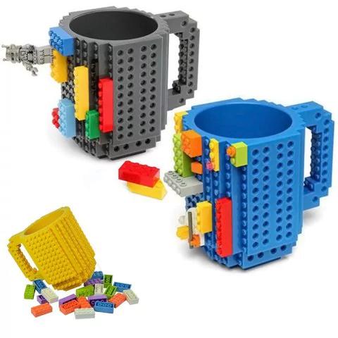 Mug en briques de construction (Plusieurs coloris)