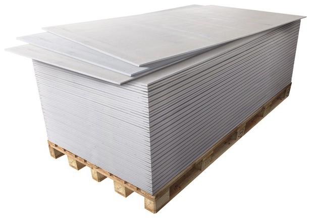 Le m² de plaque de plâtre BA13
