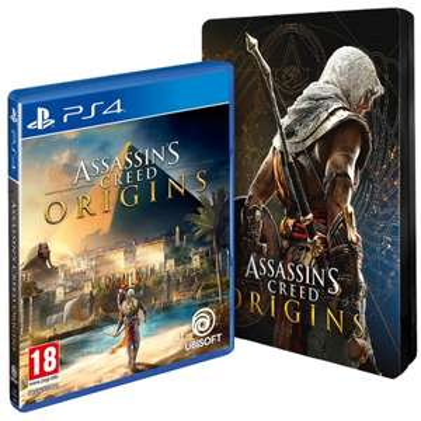 Assassin's Creed : Origins + Steelbook sur PS4
