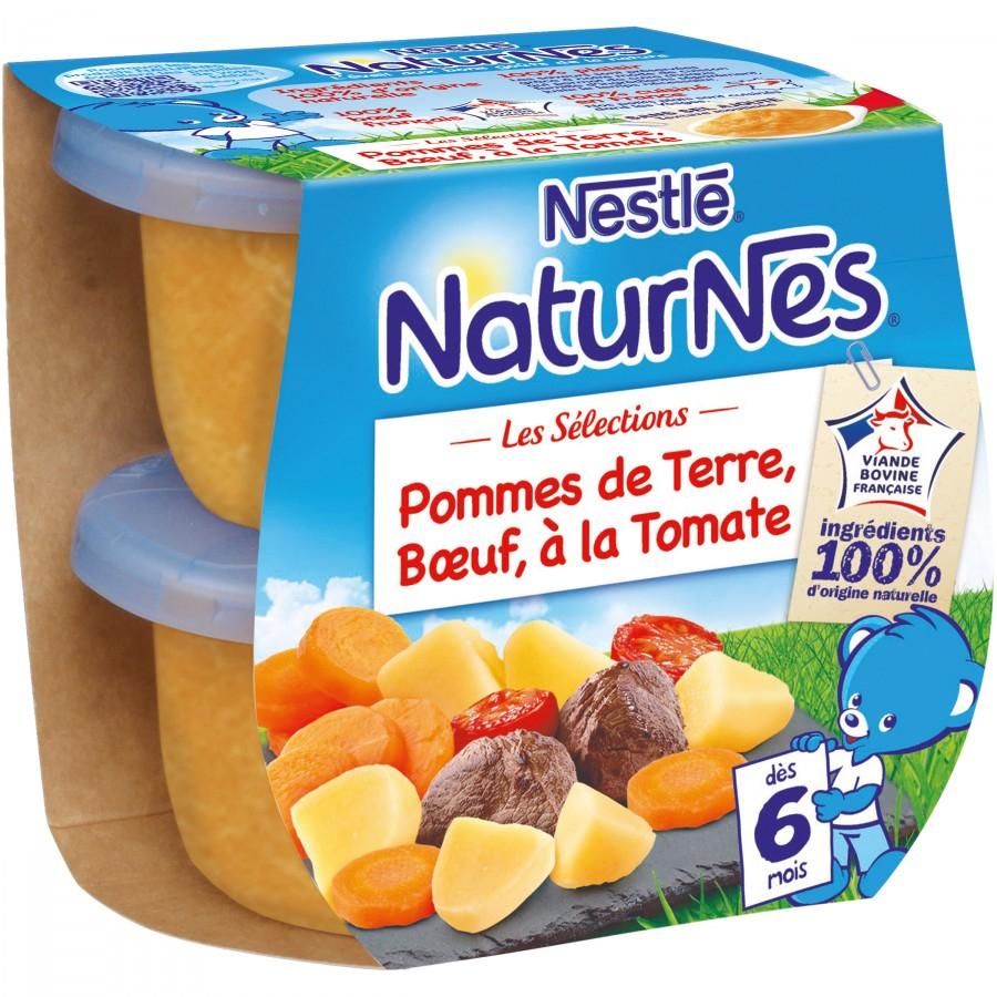 Sélection de produits pour bébé en promotion - Ex : lot de 3 plats cusinés Nestlé NaturNes Les Sélections - différentes recettes, 200 g (via BDR)