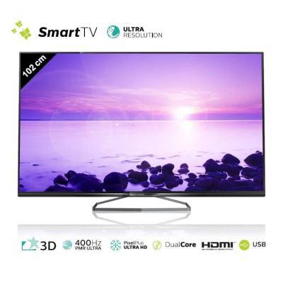 "TV  40"" Philips 40PUK6809 (Smart 3D 4K Ultra HD)"