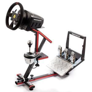 Support de jeux vidéo pour boîte de vitesse, pédalier et volant 68DB Wheel Stand Evo - compatible Logitech / Thrustmaster