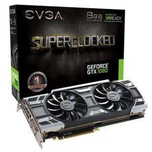 Carte graphique EVGA GTX 1080 Gaming ACX 3.0 - 8Go GDDR5X