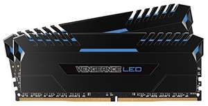 Kit Mémoire DDR4 Corsair Vengeance LED - 32Go (2x16Go), DDR4, 3000MHz, C15, XMP 2.0 - Bleu LED
