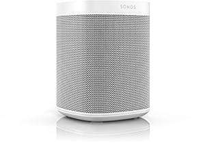 Enceinte multiroom Sonos One - avec commande vocale Alexa (blanc)